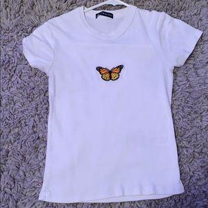 Brandy Melville Butterfly Shirt